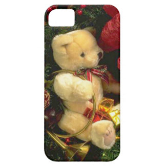 Christmas bear iPhone 5 cover