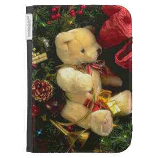 Christmas bear kindle 3G cover