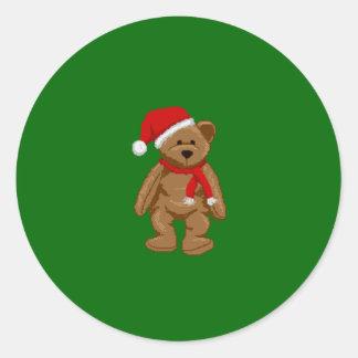 Christmas Bear Christmas Sticker