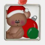 Christmas_Bear con los ornamentos Adornos