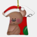Christmas_Bear con los ornamentos Ornamento Para Reyes Magos