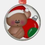 Christmas_Bear con los ornamentos Ornato