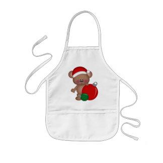 Christmas Bear Holiday kids apron