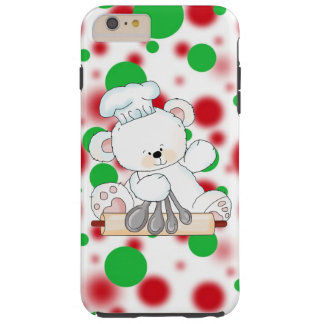 Christmas bear iPhone 6 plus tough Tough iPhone 6 Plus Case