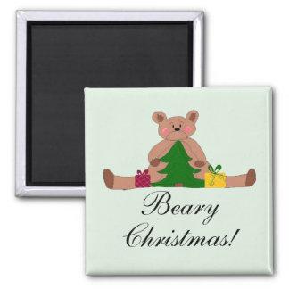 Christmas Bear Magnet