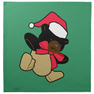 Christmas Bear Napkins
