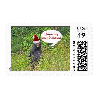Christmas Bear Stamp