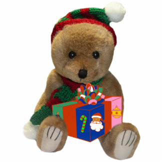 Christmas Bear Sculpture