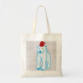 Christmas Bear Tote Bags
