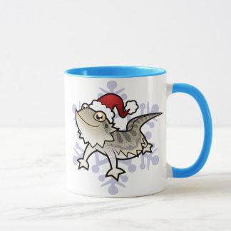 Christmas Bearded Dragon / Rankins Dragon Mug
