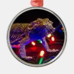 Christmas Beardie Christmas Ornaments