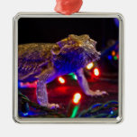 Christmas Beardie Ornament