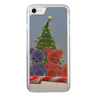 Christmas Bears 2 Carved iPhone 7 Case