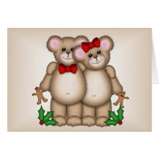 Christmas Bears Card