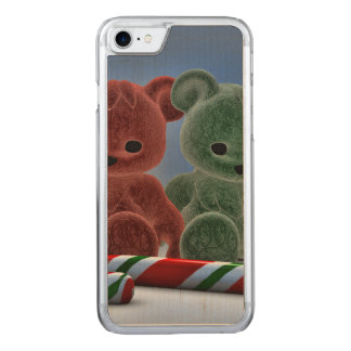 Christmas Bears Carved iPhone 7 Case
