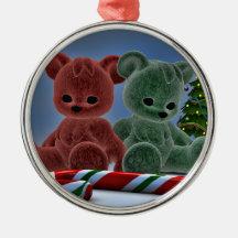 Christmas Bears Ornaments