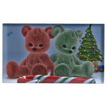 Christmas Bears Table Card Holders