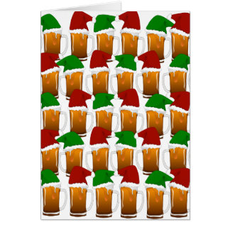 Christmas Beer Cheer Card