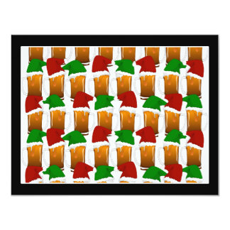 Christmas Beer Cheer 4.25x5.5 Paper Invitation Card