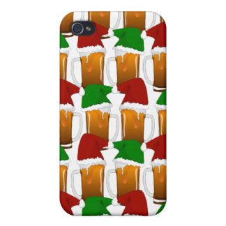 Christmas Beer Cheer iPhone 4 Cover