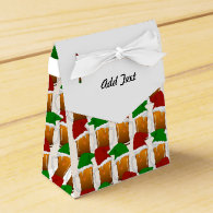 Christmas Beer Cheer Party Favor Box