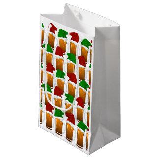 Christmas Beer Cheer Small Gift Bag