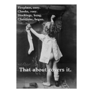 Christmas Begun - Poster