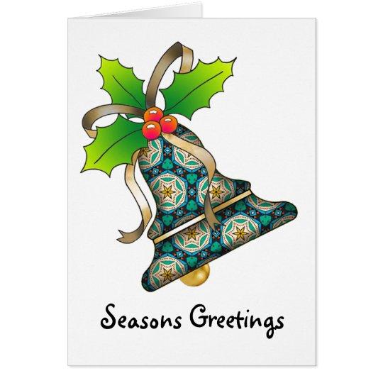 Christmas Bell - 11 Card