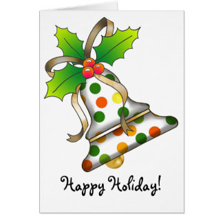 Christmas Bell - 12 Card