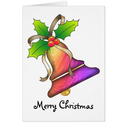 Christmas Bell 22 - Merry Christmas Card