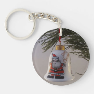Christmas Bell Bauble Keychain