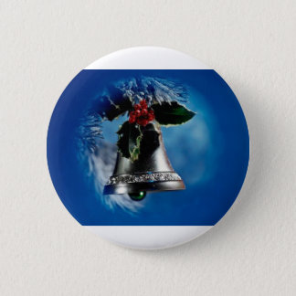 Christmas Bell Button