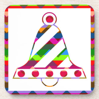 Christmas Bell Drink Coaster