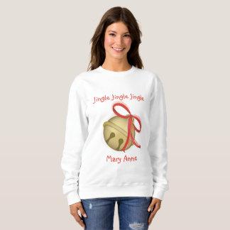 Christmas Bell Editable Women's Sweatshirt