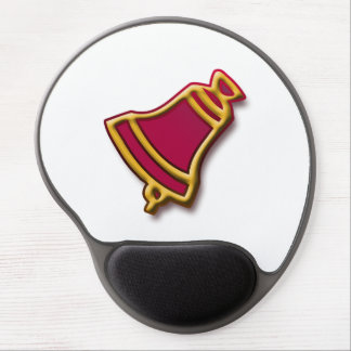 Christmas bell gel mouse pad