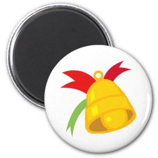 Christmas Bell Fridge Magnets