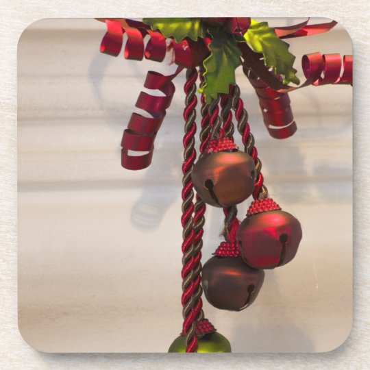 Christmas Bell Ornament Coaster