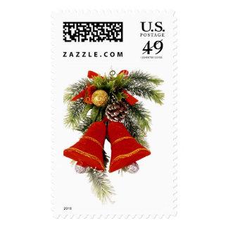 Christmas Bells 1lrg Postage Stamps