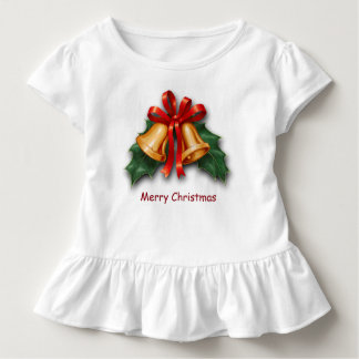 Christmas Bells and Holly Leaves Toddler T-shirt
