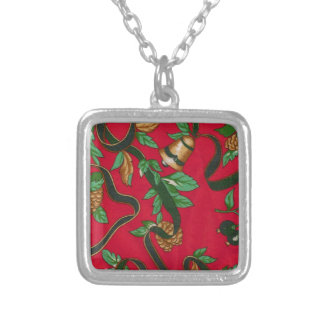 Christmas Bells and Pine Cones Pendant