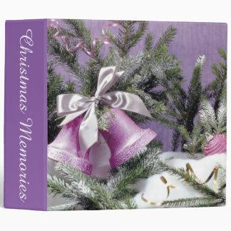 Christmas Bells Binder