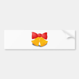 Christmas Bells Bumper Sticker