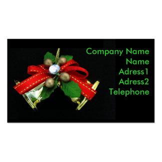 Christmas Bells Business Card