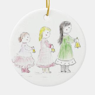 Christmas_bells Ceramic Ornament