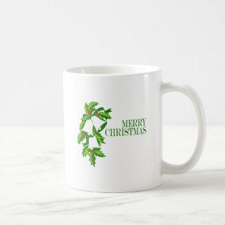 Christmas Bells Classic White Coffee Mug