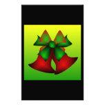 Christmas Bells Custom Stationery