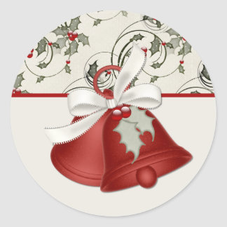 Christmas Bells Design 1 Stickers