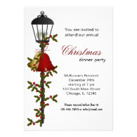 Christmas Bells dinner Announcements