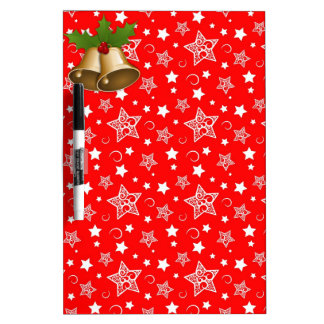 Christmas Bells Dry-Erase Board