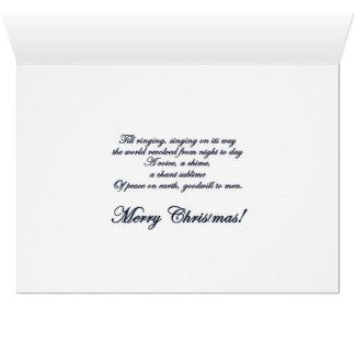 Christmas Bells holiday card